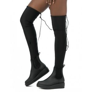 NWOT Jeffrey Campbell Monsoon Over Knee Boots
